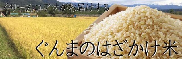 ぐんまのはざかけ米